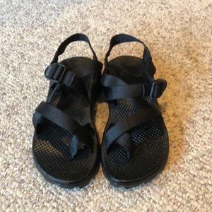 Chaco ZX/1 black strappy H20 Trail Sandals sz 6